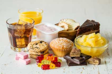 Süßes und Softdrinks zwischen den Mahlzeiten bitte vermeiden!